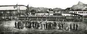 Inauguração da Estrada de Ferro D. Pedro II