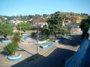 Vista da Estação de Jardim Primavera