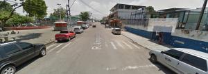 Rua Uruguaiana (google maps - street view)