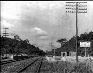 Estação de Jardim Primavera em Construção (sem data)