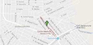 Rua Uruguaiana (google maps)